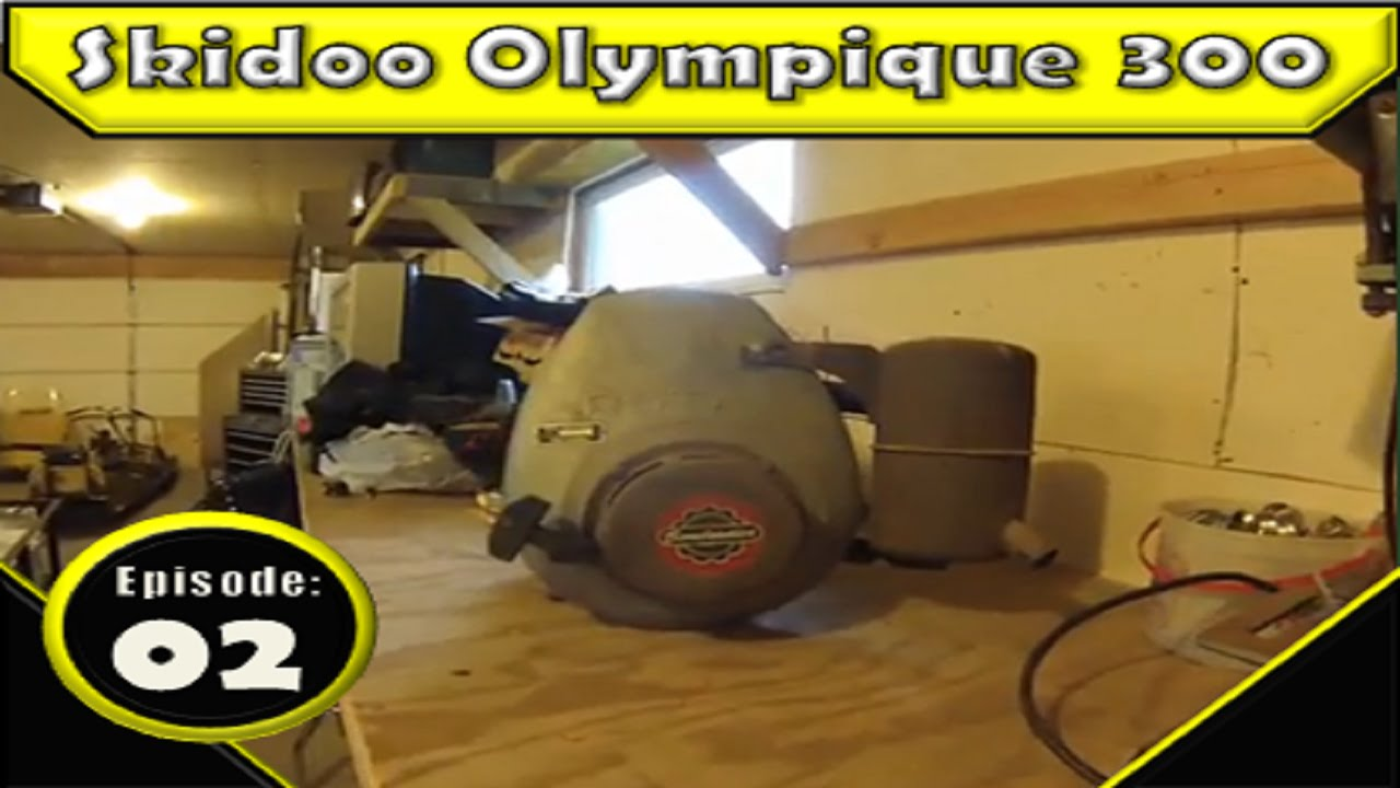 1968 ski-doo super/olympique engine disassembly: part 1