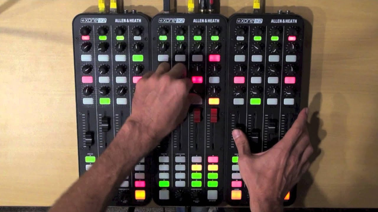 Good 3 Allen U0026 Heath Xone K2 4 Decks Internal Mix Traktor Mapping   YouTube