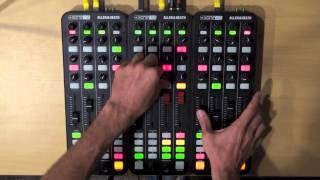 3 Allen & Heath Xone K2 4 Decks Internal Mix Traktor Mapping