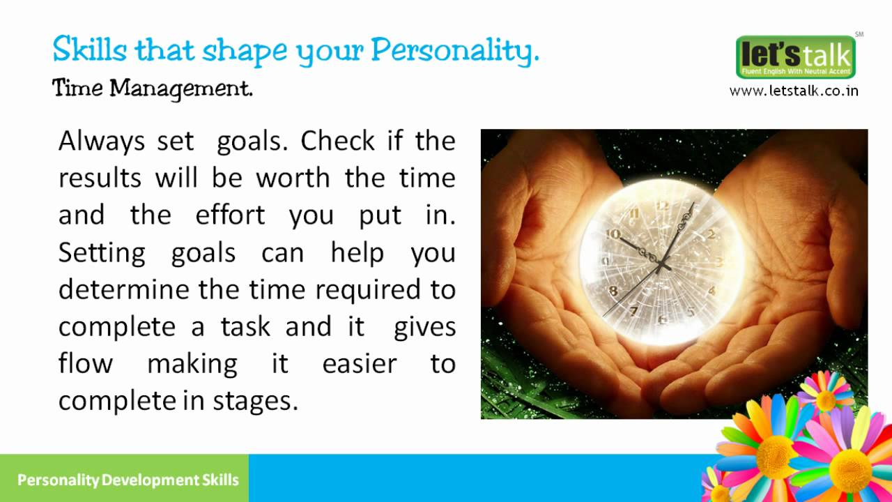 Time management personality development skills part 6 www time management personality development skills part 6 letstalk youtube ibookread