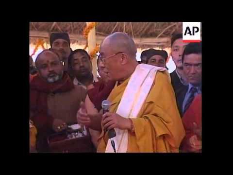 INDIA: KUMBH MELA: DALAI LAMA