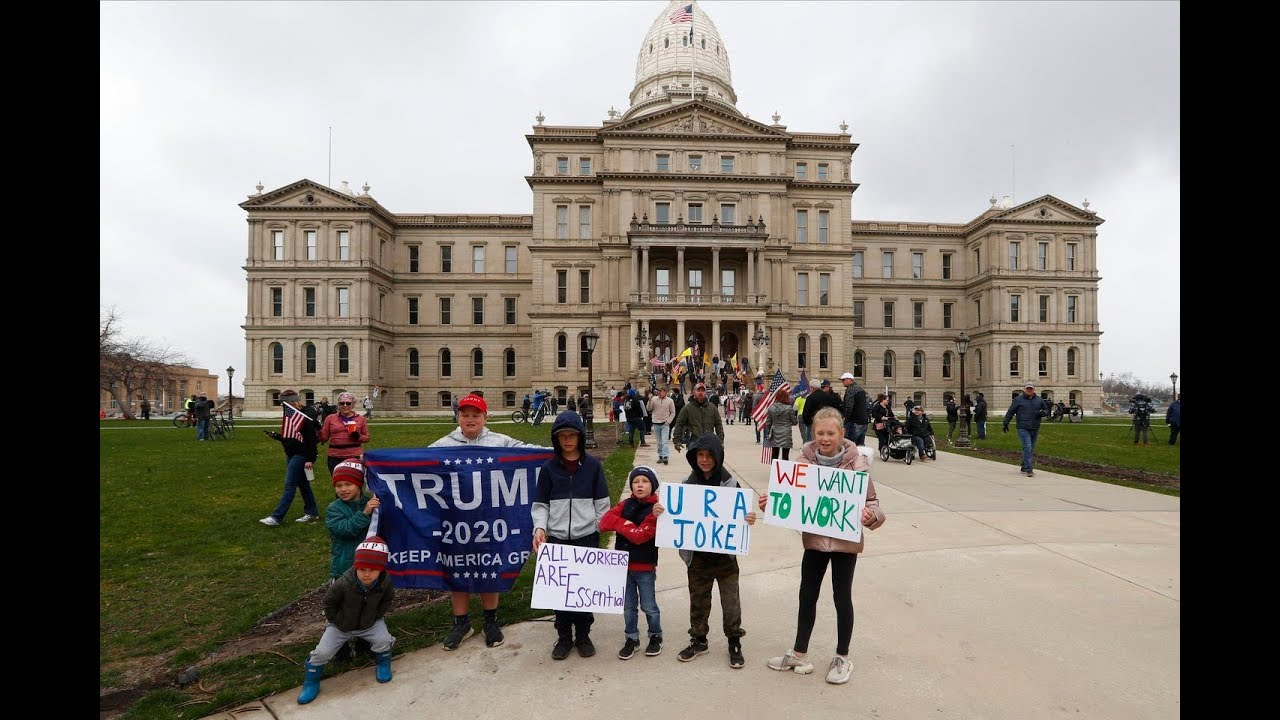 'Liberate': Trump tweets support of protests against stay-at-home ...