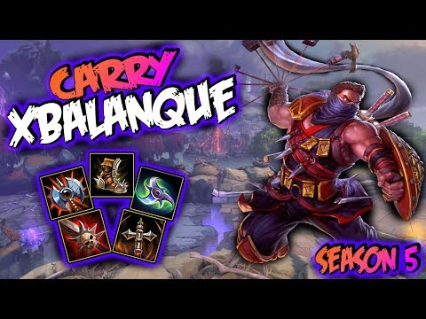 Smite   Xbalanque Build And Guide - You Cannot Run!   Smite Season 5 Gameplay