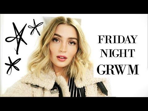 Friday Night Get Ready With Me | #LANMAS DAY 9 | allanaramaa