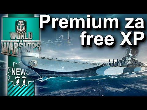 Okręt premium za Free XP? - NEWS - World of Warships