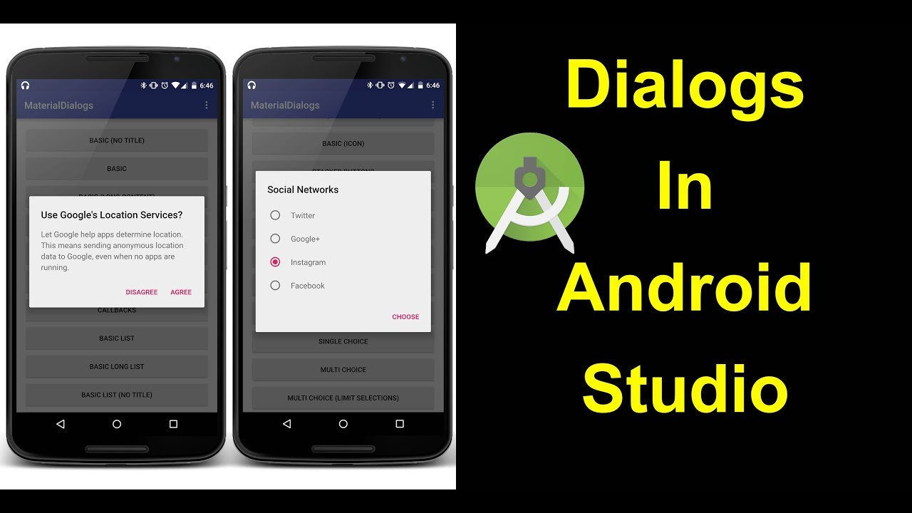 How To Create A Confirmation Dialog In Android Studio Youtube