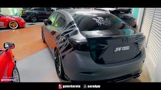 Mazda 3 Sedan Carbon Fiber MazdaSpeed