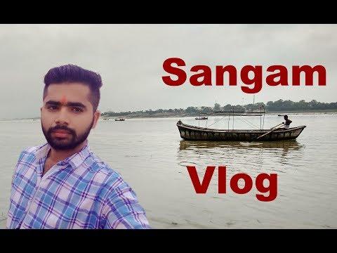 Sangam Allahabad   Travel Vlog #3