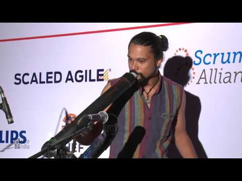Thaalavattam Project - A Music Jam Session with 100 instruments at Agile India 2016