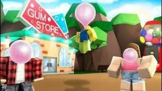 Sim pode voar com uma goma de mascar!? Roblox #ep3 (simulador de Bubblegum)