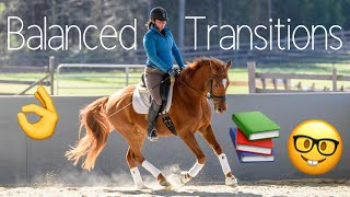 How to ride balanced transitions