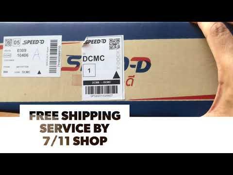 ส่งพัสดุฟรี (🤣 Free Shipping) โดย 7/11 ส่งฟรีจริงมีของแถมให้เมื่อไปรับ ประทับใจครับ(ส่งของลูกครับ)