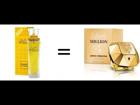 b9fa54815c Comparação  Paris Elysees e Paco Rabanne (Billion Woman x Lady Million) -  YouTube
