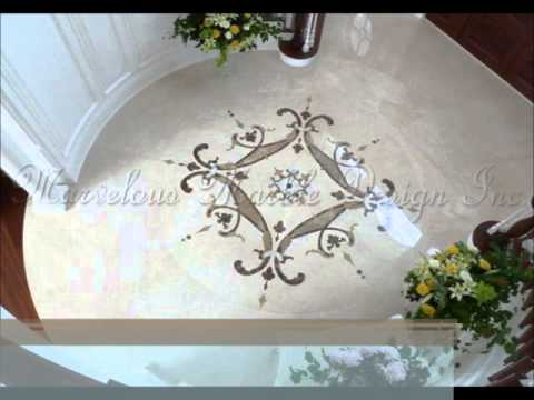 Marble Designs marble floor designs - youtube