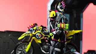 Download Mp3 S.h. Figuarts Kamen Rider Lazer Turbo Bike Gamer Level 0 Review