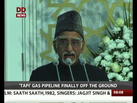 Turkmenistan starts work on TAPI gas pipeline