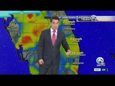Meteorologist Weather Report