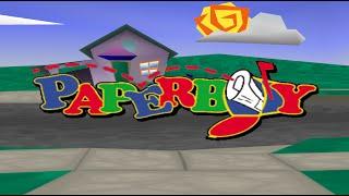 Nintendo 64 Longplay [009] PaperBoy
