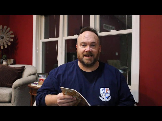 St. Mark Youth Enrichment: Guest Reader: Patrick Harrington, UWP Women's Rugby Coach