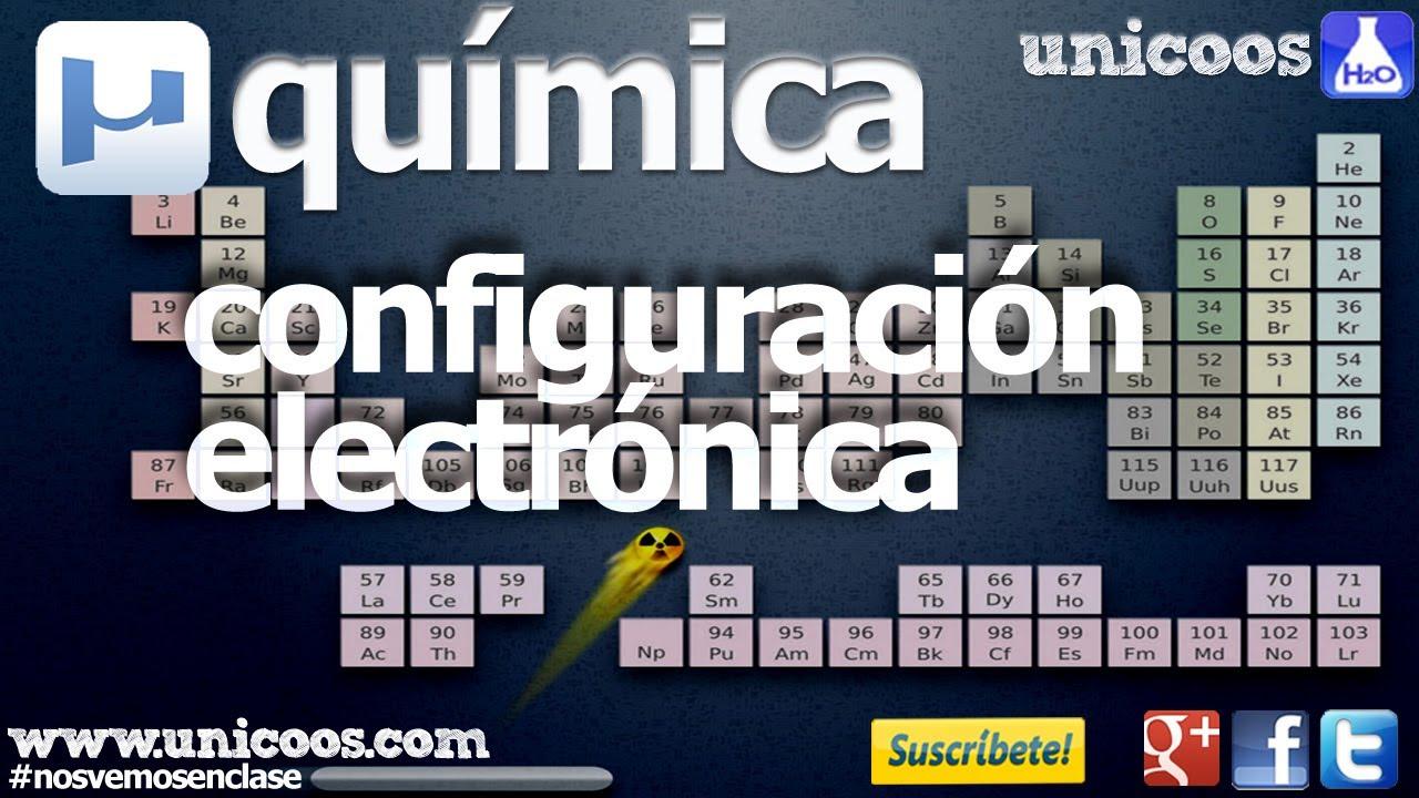 Quimica configuracion electronica en orbitales f youtube urtaz Images
