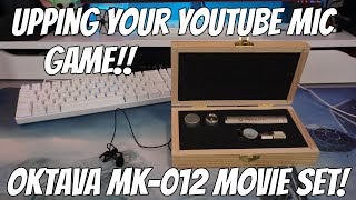 The Oktava MK 012-01 Movie Set Best Microphone For Indoor Dialogue, Talking Head and Youtube Vlog