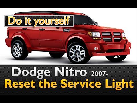 Very easy Service Light reset Dodge Nitro 2007- - YouTube