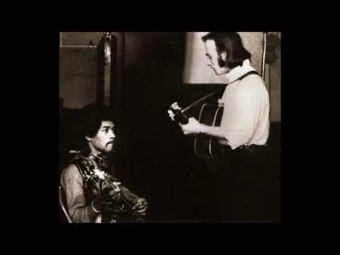JIMI HENDRIX - In Sessions (with Stephen Stills) - Full Album (1968)