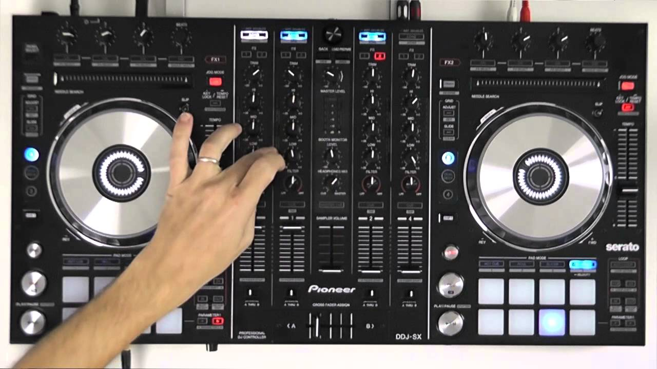 Pioneer DDJ-SX-W DJ Controller Driver for Windows 7