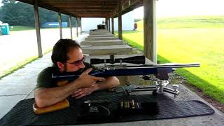 Benchrest Shooting - Free Recoil