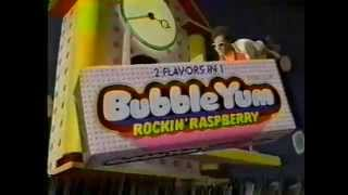 80's Ads: Bubble Yum Rockin' Raspberry Bubble Gum
