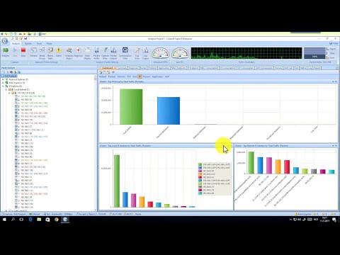 Colasoft Capsa Enterprise - WAN / Internet bandwidth inspection