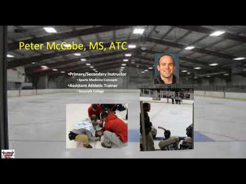 Management of the Equipment Laden Hockey Player