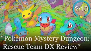 Pokémon Mystery Dungeon: Rescue Team DX Review [Switch] (Video Game Video Review)