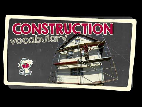 Construction - English vocabulary