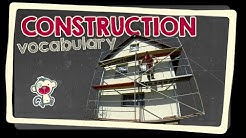 Construction - English vocabulary