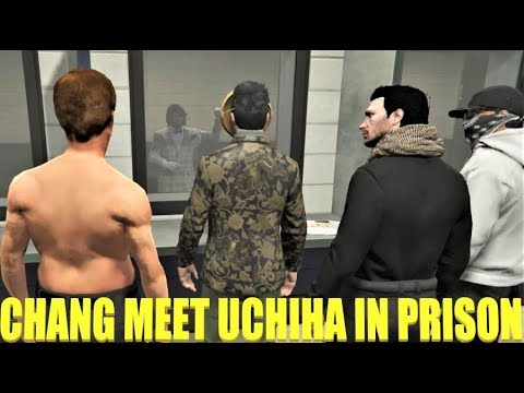 Mr.Chang Visit Uchiha In Prison and Uchi Prison Release Gta 5 Rp Nopixel