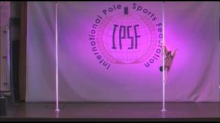 World Pole Sports 13 - Ipsf - Alessandra Marchetti - Italy - World Champ