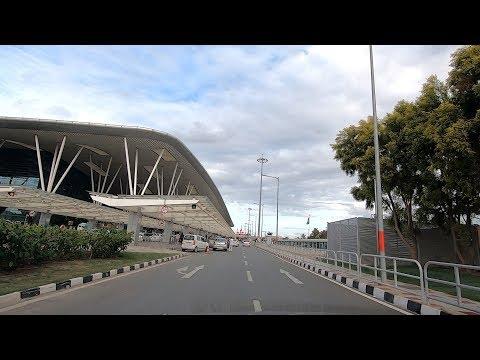Driving In Bangalore (Kempegowda International Airport) - Karnataka, India