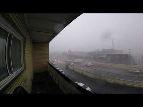 Strong wind and storm Montreal August 22/2017