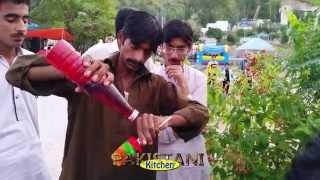 Pakistan Street Food: Gola Ganda - Shaved Ice - Snow Cones - Chuski - Ba