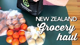 New Zealand Grocery Haul (Countdown) | A Thousand Words