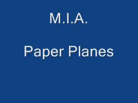 M.I.A.-Paper Planes Lyrics