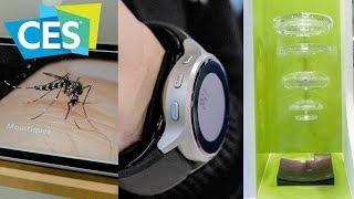 Pułapka na komary, Smartwatch mierzący ciśnienie, Super aparat w smartfonie #CES2019 odc. 3