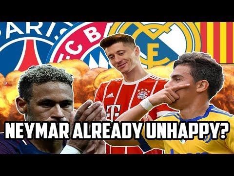 #ICYMI: European Football Round Up! - Neymar Upset At PSG?!