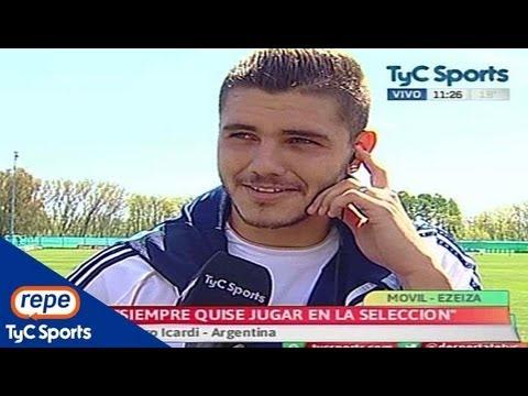 """Mauro Icardi: """"Siempre quise jugar en la Selección Argentina"""""""