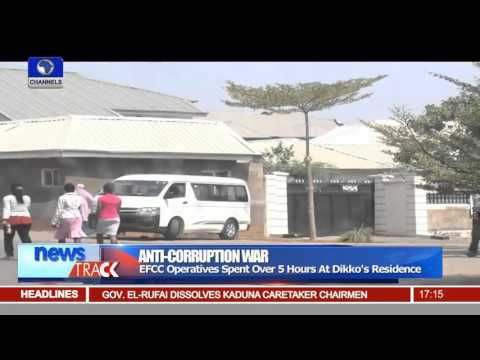 EFCC Raids Former Customs Comptroller General's Residence -- 08/01/16