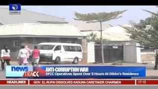 EFCC Raids Former Customs Comptroller General's Residence -- 08/01/16