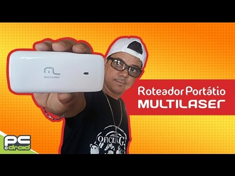 Roteador portatil multilaser (REVIEW)