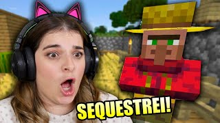 SEQUESTREI UM ALDEÃO NO MINECRAFT! Parte 10