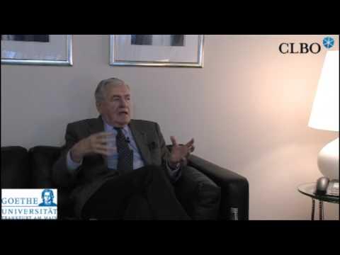 Hilmar Kopper im Gespräch mit Rolf van Dick